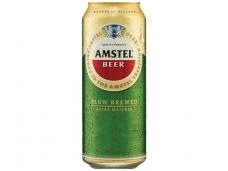 Alus Amstel skard. 0,5 l