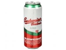 Alus nealkoholinis Budweiser Budvar Free skard. 0,5 l