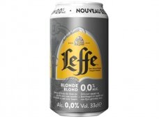 Alus nealkoholinis Leffe Blonde skard. 0,33 l
