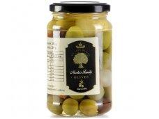 Alyvuogių ir agurkėlių Asorti 370 ml