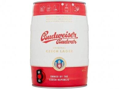 Alus Budweiser Budvar Original skard. 5 l