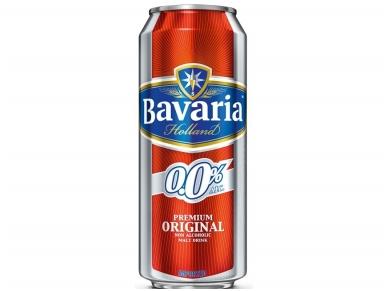 Alus nealkoholinis Bavaria Premium skard. 0,5 l