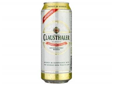 Alus nealkoholinis Clausthaler Classic skard. 0,5 l