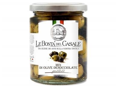 Alyvuogės Le Bonta Del Casale Itališkų alyvuogių asorti aliejuje 314 ml