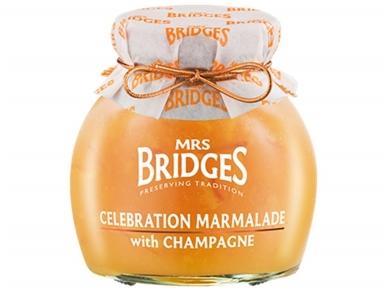 Mrs Bridges Apelsinų džemas su šampanu 113 g