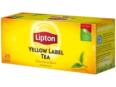 Arbata Lipton Yellow label 25 pak.