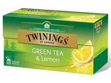 Arbata Twinings Green Lemon 25 pak.