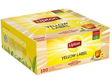 Arbata Lipton Yellow label voke 100 pak.