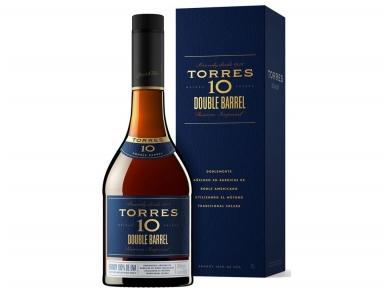 Brendis Torres 10 Double Barrel su dėž. 0,7 l