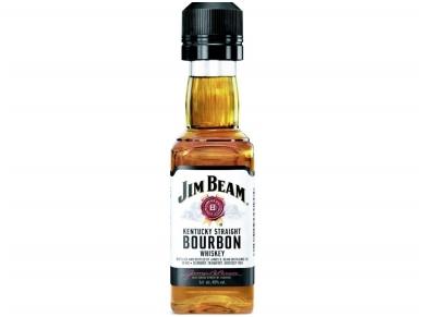 Viskis Burbonas Jim Beam 0,05 l mini