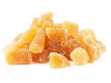Cukruoti imbiero kubeliai 125 g
