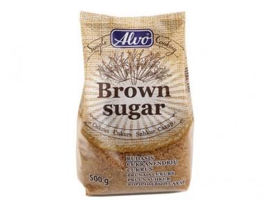 Cukrus Alvas rudas smulkus 500 g