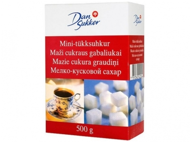 Cukrus Dan Sukker baltas gabalinis 500 g