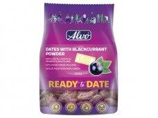 Datulės su juodųjų serbentų milteliais Alvo Ready To Date 200 g