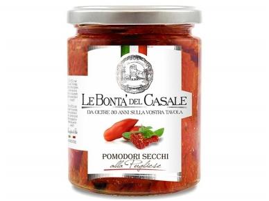 Daržovės Le Bonta Del Casale džiovinti pomidorai alla Pugliese 314 ml