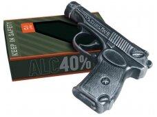 Degtinė Zlatagor Pistoletas (Makarova) su dėž. 0,1 l