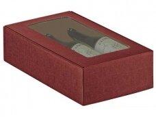 Dėžutė Bordo su langu Cantinetta 2 but. 340x185x90