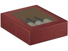Dėžutė Bordo su langu Cantinetta 3 but. 340x280x90
