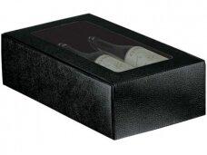 Dėžutė Juoda su langu Cantinetta 2 but. 340x185x90