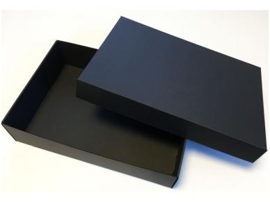 Dėžutė juoda 3 But. 350x240x85