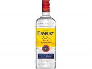 Džinas Finsbury Dry 0,7 l