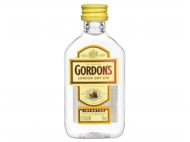 Džinas Gordon's 0,05 l PET mini