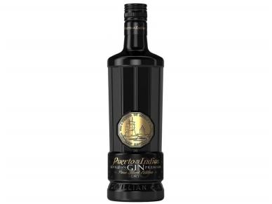 Džinas Puerto de Indias Black Edition 0,7 l