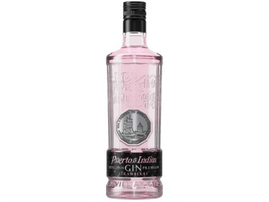 Džinas Puerto De Indias Strawberry 0,7 l