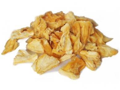 Džiovinti ananasų gabaliukai 80 g