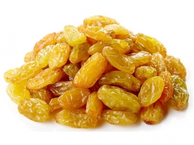 Džiovintos geltonos razinos 120 g