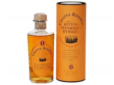 Grappa Sibona Whisky Cask su dėž. 0,5 l