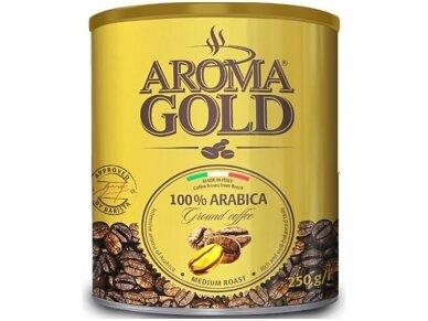 Kava Aroma Gold Arabica skard. 250 g