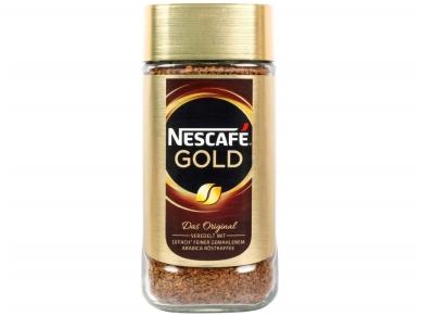 Kava Nescafe Gold  (stikl.) 200 g