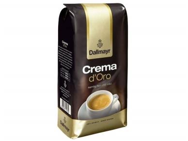 Kava pupelės Dallmayr Crema 1 kg
