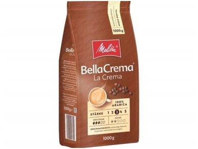 Kava pupelės Melitta La Crema 1 kg