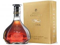 Konjakas Croizet Grande Champagne Extra su dež. 0,7 l
