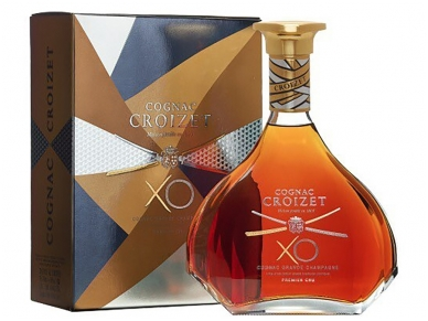 Konjakas Croizet Grand Champagne Cognac X.O. su dež. 0,7 l