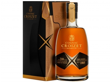Konjakas Croizet Grand Champagne V.S. X su dėž. 0,7 l