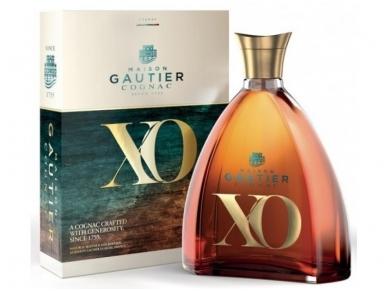 Konjakas Gautier Gold & Blue X.O. su dėž. 0,7 l