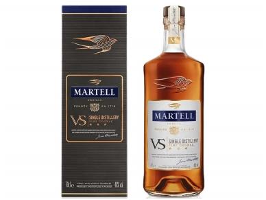 Konjakas Martell V.S. su dėž. 0,7 l