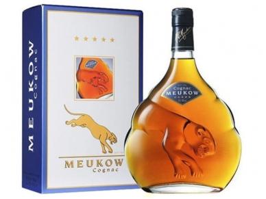 Konjakas Meukow 5 Stars su dėž. 0,7 l
