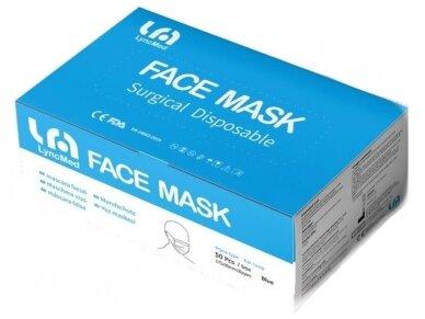 Medicininė veido kaukė 50 vnt. 2