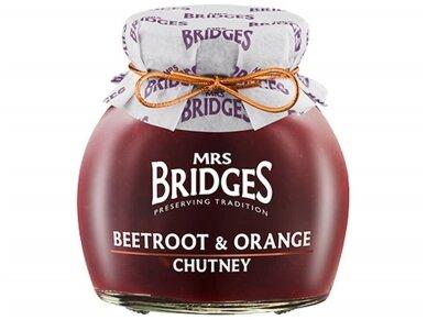 Mrs Bridges Burokėlių ir apelsinų čatnis 100 g
