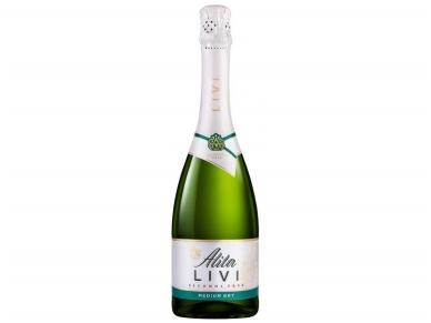 Putojantis vynas nealkoholinis Alita Livi medium dry 0,7 l