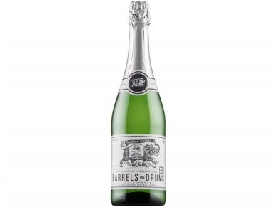 Putojantis vynas nealkoholinis BARRELS and DRUMS Chardonnay 0,75 l