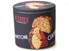 Pyragas Panettone La Torinese Classico metalinė dėž. 1000 g