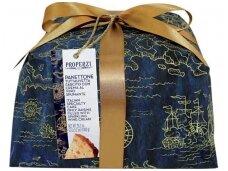 Pyragas Panettone su kriaušėmis ir šokolado gabaliukais 1000 g