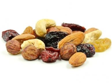Riešutų ir džiovintų vaisių rinkinys 120 g