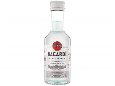 Romas Bacardi Carta Blanca 0,05 l PET mini