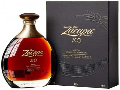 Romas Zacapa Centenario Solera Gran Reserva XO 25 YO Su dėž. 0,7 l